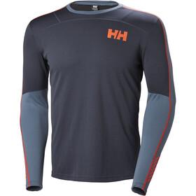 Helly Hansen Lifa Active Crew Shirt Men Graphite Blue